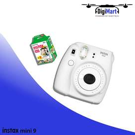 INSTAX Mini 9 Instant Film Camera With 20x Film Sheets