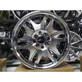 velg racing kijang lgx ring 17 warna black polish