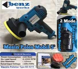 "Benz Mesin Poles 5""/ Mesin Poles Mobil 5 Inc Electric Polisher BZ 8215"