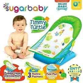 baby bath bather tempat mandi bayi sugar baby