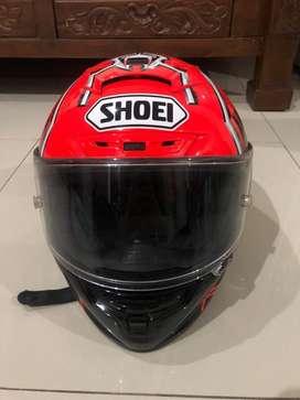 SHOEI X14 MARC MARQUEZ RED ANT ORIGINAL