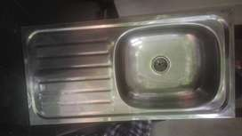 Steel sink for sale (not used)