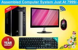 New Assembled Desktop PC @ Rs. : 6999/-