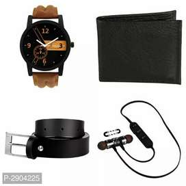 Watch + bluetoothearphone + selfiestick FREE delivery allover India