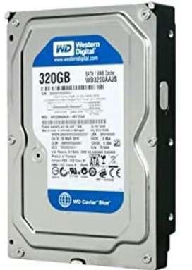 320GB hard disk