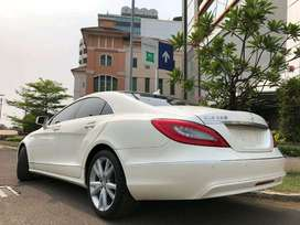 CLS350 Exclusive 2013 Nik13 White Km20rb Antik Seat 2+2 Harman Kardon