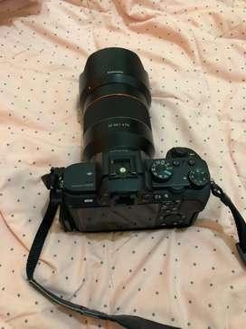 Sony a7ii with lensa samyang AF 50mm f1.4