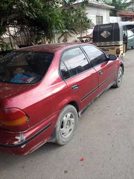 Honda civic 1997 only running page hai file miss hoo gai