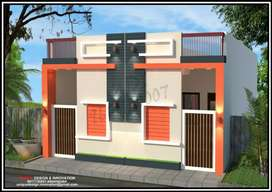 Row house at by pass