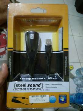 Sound Card USB Virtual 7.1