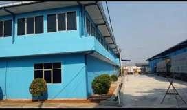Dijual Gudang Jatake terdiri 2 bangunan 17,5M/nego