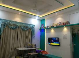 Get 2 Bhk space in one 1Bhk. Well Develop Area