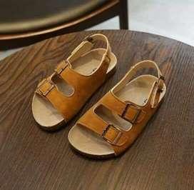Sendal fashion korea brown