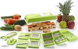 12 in 1 Vegetable & Fruit Grater, Nicer Dicer,. Slicer, Cutter,
