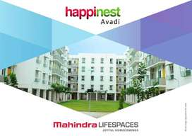 1BHK NEW APARTMENT FOR RENT AT MAHINDRA HAPPINEST, AVADI