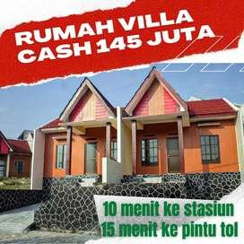 Dijual Rumah Etnik Villa Dekat Stasiun Rangkasbitung Dan Toll Mandala