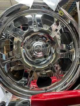 Velg jeep rubicon merk center line chrome ori 100% new