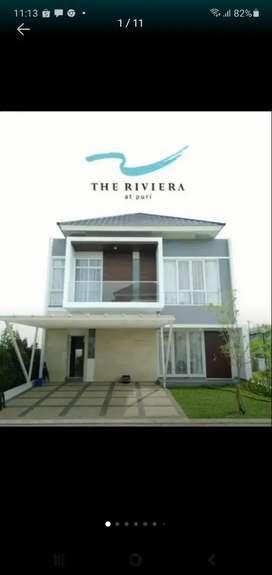 Di jual rumah 2lt Riviera Puri metland, ready siap huni ,lokasi di dpn