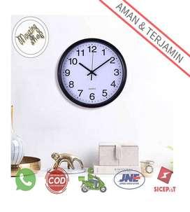 TC Jam Dinding Bulat