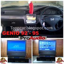 Honda GENIO 92 Up 95 Single DVD VCD BLUETOOTH JVC KD AV7005 24BIT