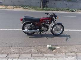 Yamaha rx 135 5 speed all paper new alloy tyre