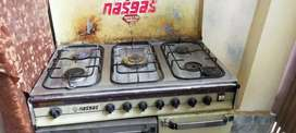 Nasgas cooking range ..5 stoves