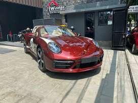 For Sale Porsche 911 Targa 4S Heritage 2021 Carmine Red On Beige