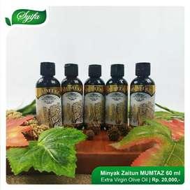 Zaitun kemasan 60ml extra virgin olive herbal alami