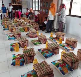 Menerima Pengbungkusan Sembako, Partai Besar Atau Kecil