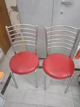 Stainless steel body chairs