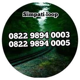Nomor cantik simpati loop