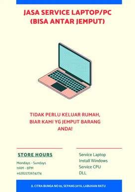 Service PC/Laptop antar jemput