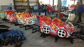 RST mainan labirin run  kereta odong odong IIW  mini coaster