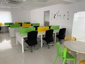 32seating office space new office with 2 cabins conference gachibowli