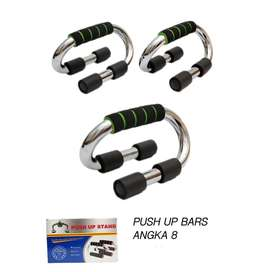 Alat Fitness Olahraga Push Up Bar Hand Handle Model 8
