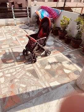 Kids Pram of brand Luv lap