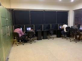 Workspaces for freelancers, call center and software house