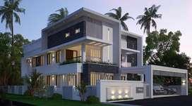 Kakkanad padamugal 7.5cent 4500sqt luxury house 3.25cr