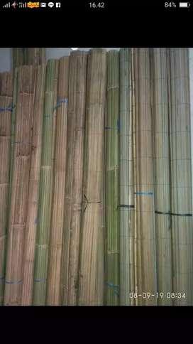 Tirai krey bambu
