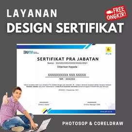 Jasa Design Sertifikat