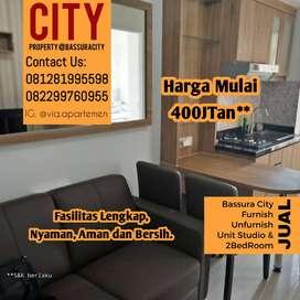 Jual Unit 2BR Furnish & Unfurnish @ Bassura City Apartement Jakarta