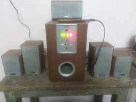 Mitsun home treater 5.1 audio system