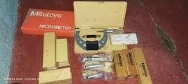 Micrometer meter mitutoyo original Japan baru stock lama