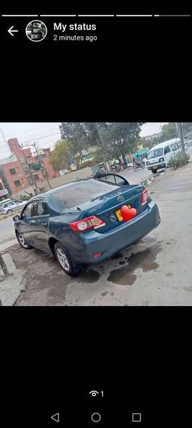 Toyota corolla 2012 awesome company mantain for sale