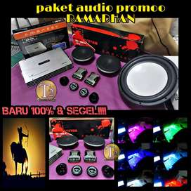 Audio embassy full komplit merek+box+kabel+bonus led