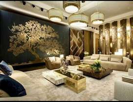 Interior decoration at lowest price (LIFE TIME SERVICE WARRANTY)