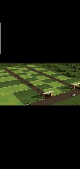 Plot for sale in undri