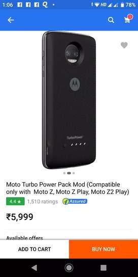 Motorola turbo power pac mod