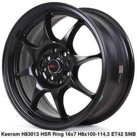 type KEEROM 83013 HSR R16X7 H8X100-114,3 ET42 SMB