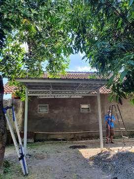 Kanopi Baja Ringan Atap Galvalum TERJANGKAU ADI TRUSS No.1
